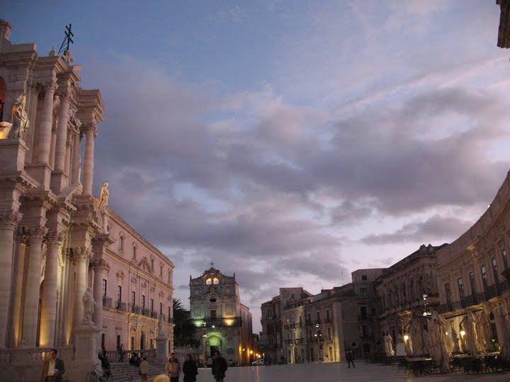 Piazza del Duomo, Ortigia Siracusa